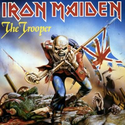 the-trouper-iron-maiden-copertina-derek-riggs